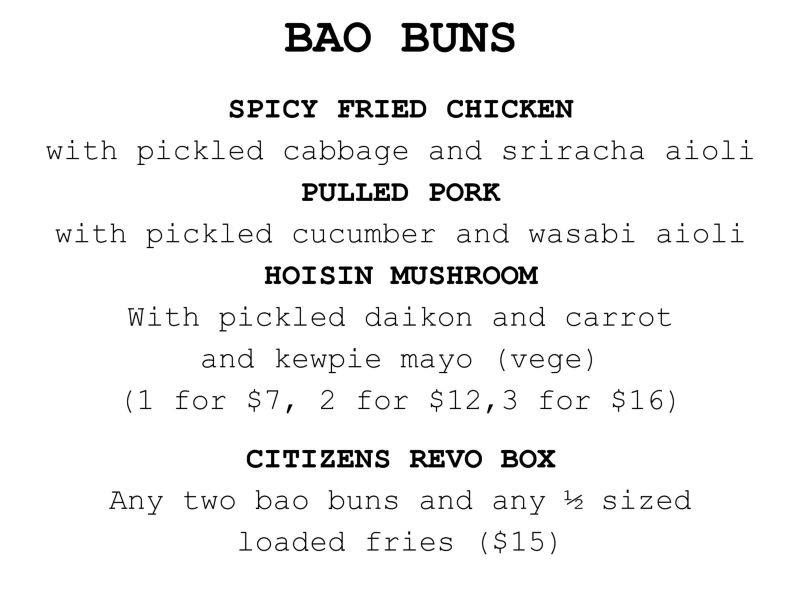 Citizens Bao Buns